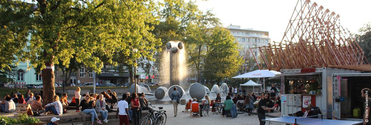 Zwischennutzung Ebertplatz, Foto: Helle Habenicht