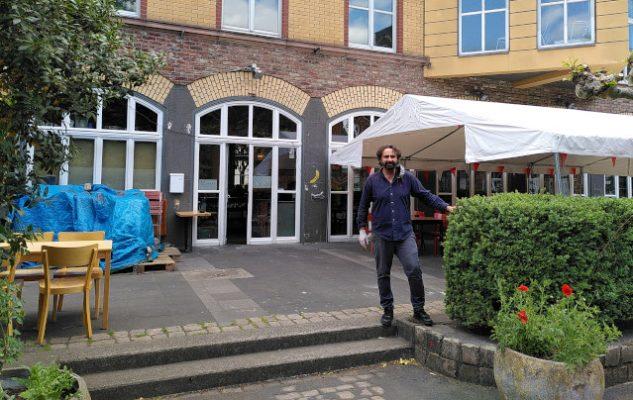 Das Lokal in der Alten Feuerwache hat wieder geöffnet. Foto: Jannes Böhm