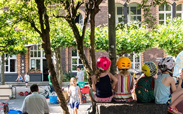 Sommerferienprogramm des Kinderbereichs der Alten Feuerwache Köln